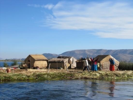 Circuit Pérou Îles Flottantes Uros Lac Titicaca Puno